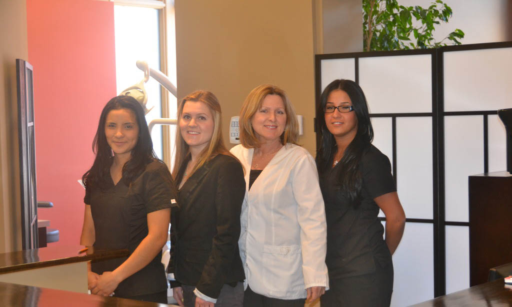 Dr. Lysisk and staff at Florence Dentistry - Ottawa Downtown Dentist